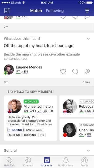 HelloTalk App